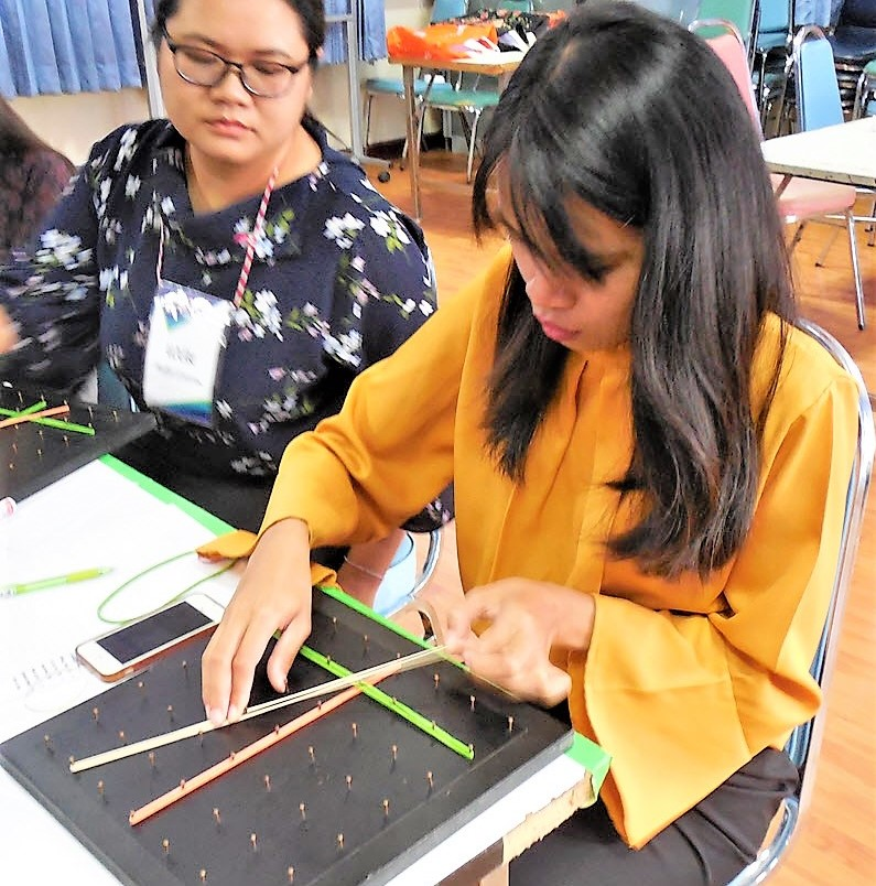 Geoboards Workshop at Maha Sarakham Rajabhat University_1