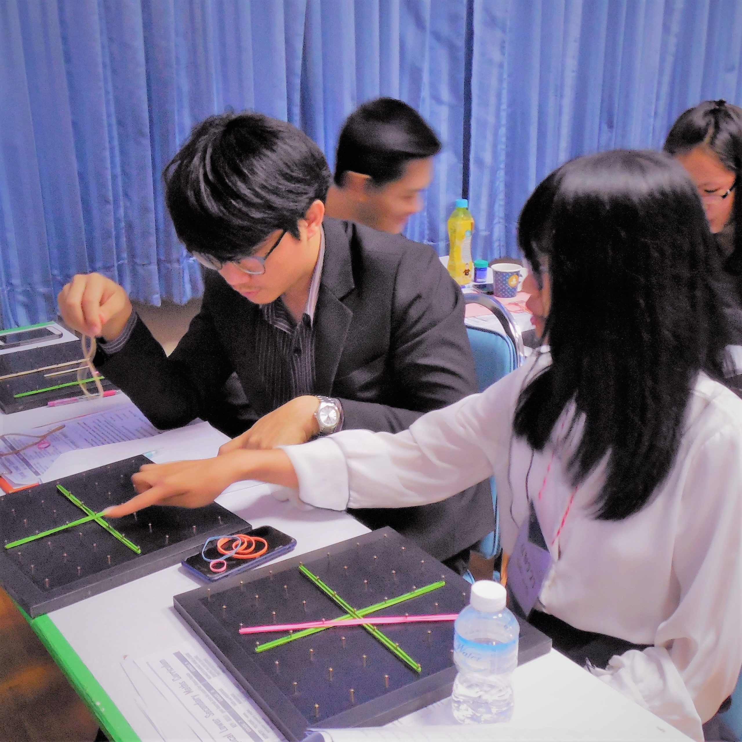 Geoboards Workshop at Maha Sarakham Rajabhat University_2