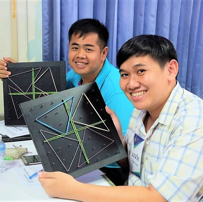 Geoboards Workshop at Maha Sarakham Rajabhat University_4