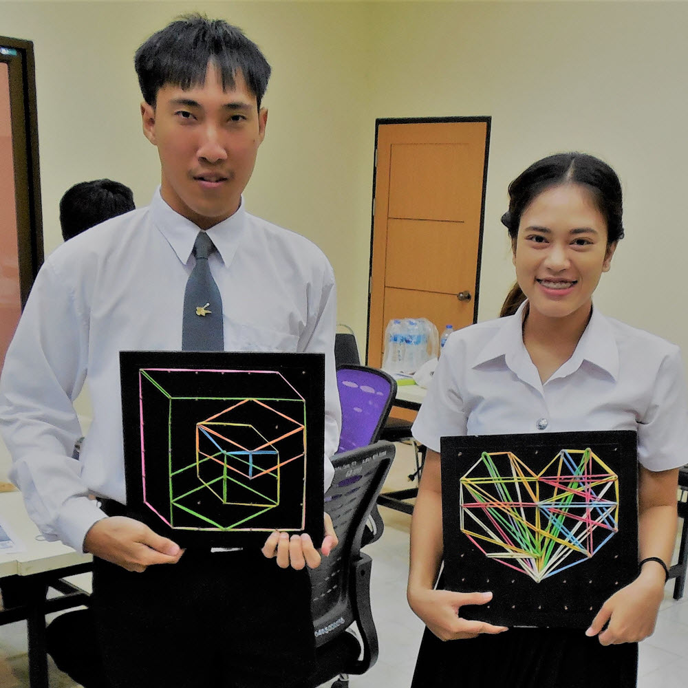Geoboards Workshop at Naresuan University_1