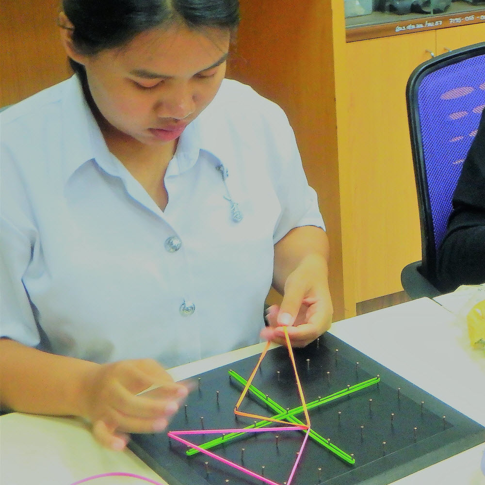 Geoboards Workshop at Naresuan University_2