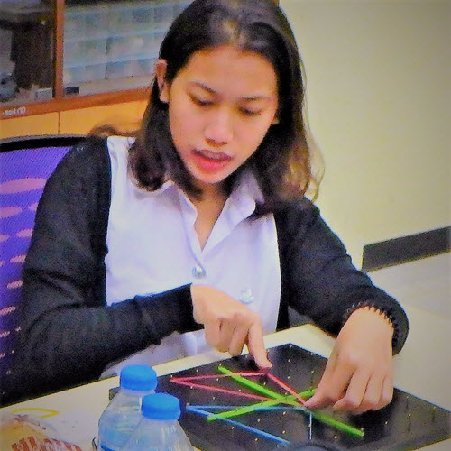 Geoboards Workshop at Naresuan University_3