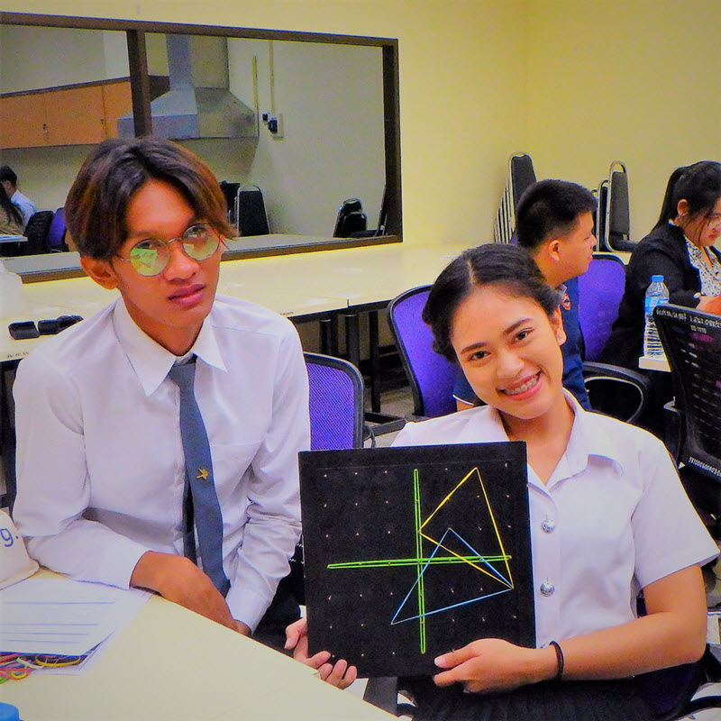 Geoboards Workshop at Naresuan University_5