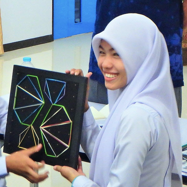 Geoboards Workshop at Songkhla Rajabhat University_2