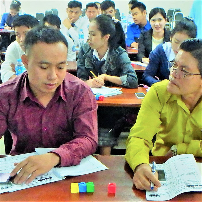 Probability Workshop at National University of Laos_1